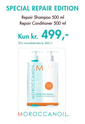 Moroccanoil SPECIALREPAIREDITION kun 499,-